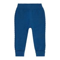 Pantaloni tricotaţi bebe Pablo Saphire Blue