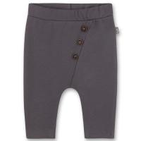 Pantaloni unisex bebe, Sanetta Pure, gri