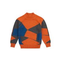 Pulover tricotat băieţi Kuruk Rusty Orange