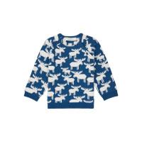 Pulover tricotat bebe Victor Reindeer