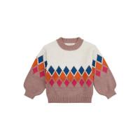 Pulover tricotat fete Delia