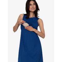 Rochie albastră pentru sarcină şi alăptare Zoo