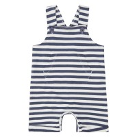 Salopetă scurtă Fabio Navy Stripes