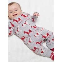 Salopetă tricotată bebe Rocking Horse
