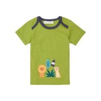 Tricou bebe Tobi Green Tiger