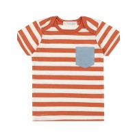 Tricou bebe Tobi Orange