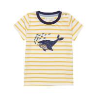 Tricou cu mânecă scurtă Ibon galben bebe