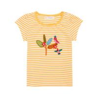 Tricou fetiţe Gada galben