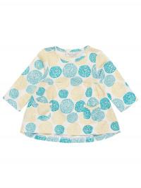 Bluză cu mânecă lungă şi imprimeu floral Edith