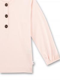 Bluză cu năsturei Sanetta Pure,  roz