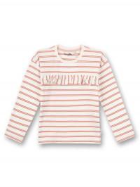 Bluză cu volan şi dungi Terra Sanetta Pure
