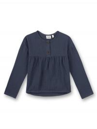 Bluză fete, bumbac organic Ombre Blue