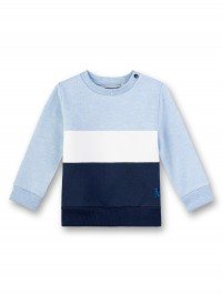 Bluză mânecă lungă bebeluşi, albastră