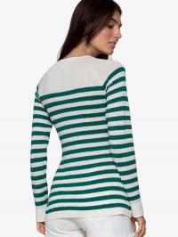 Bluză sarcină şi alăptare Elvira, dungi verzi