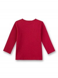 Bluză roşie cu imprimeu cu balansoar căluţ