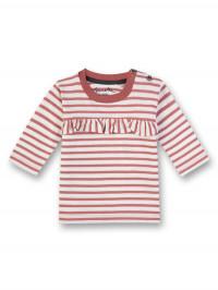 Bluză roz cu volan Sanetta Pure