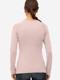 Bluză sarcină şi alăptare Lulu roz, amestec lână
