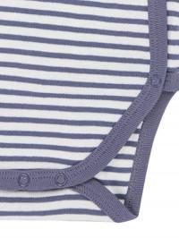 Body bebe Ygon Blue-Grey Stripes