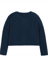 Cardigan tricotat bebe Emilia, steluţe brodate