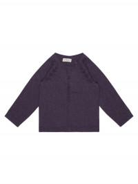 Cardigan tricotat fete Hurit Mov