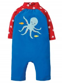 Costum de baie copii UPF 50+ Sail Blue