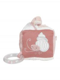 Cub moale de activităţi bebe Ocean Pink