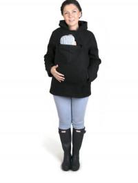 Hanorac pentru babywearing Basic Black