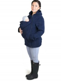 Hanorac pentru babywearing Basic Navy