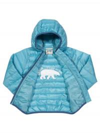 Jachetă Cocoon albastră