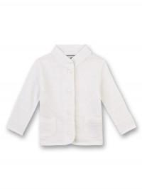 Jachetă elegantă bebeluşi, Ivory
