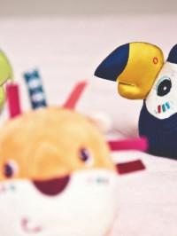 Jucărie cu 4 forme senzoriale Animale din Junglă