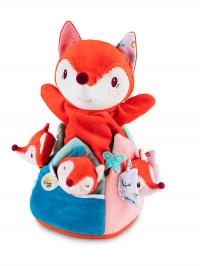 Jucărie din plus cu marionete Vulpea Alice