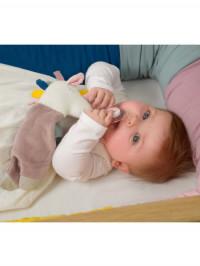 Jucărie Doudou Comforter Unicorn, bumbac organic