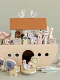 Jucărie lemn Arca lui Noe