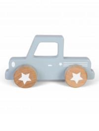 Jucărie lemn Pick Up albastru