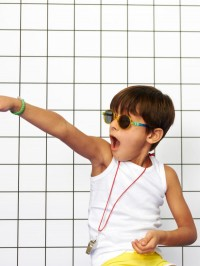 Ochelari soare copii Round Memphis, 6-9 ani