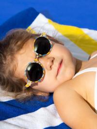 Ochelari soare copii Round Rosemound, 4-6 ani