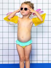 Ochelari soare copii Wazz Blush, 1-2 ani