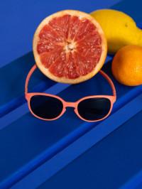 Ochelari soare copii Wazz Grapefruit, 2-4 ani