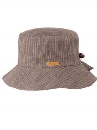 Pălărie din in copii Floppy Brown