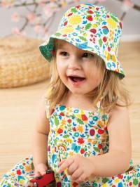 Pălărie reversibilă bebe Ditsy
