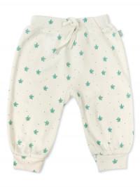Pantaloni bebe Dotted Leaves