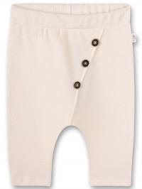 Pantaloni bebe White Whisper, bumbac organic