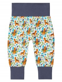Pantaloni bumbac organic bebe Sjors Tiger