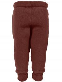 Pantaloni lână fleece Madder Brown