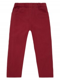 Pantaloni lungi twill Amia Red