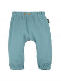 Pantaloni muselină dublă Minty Ice