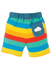 Pantaloni scurţi Little Stripy Rainbow