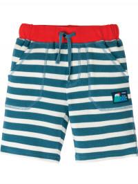 Pantaloni scurţi Stripy, albaştri