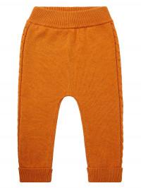 Pantaloni tricotaţi bebe Pablo Orange